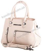 Женская сумка Lucky bags H59 beige брендовые женские сумки в Одессе