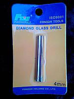 Коронка алмазная по стеклу и керамике 4 мм