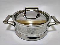 Каструля з металевою кришкою Krauff 26-247-004 6,3 л, фото 1
