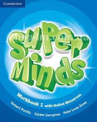 Super Minds 1 Workbook with Online Resources / Рабочая тетрадь