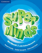 Super Minds 1 Workbook with Online Resources / Рабочая тетрадь
