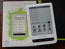 Электронная книга PocketBook Touch 622 White, фото 3