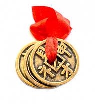 Талисман Китайские монетки счастья
