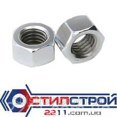 Гайка шестигранная оцинкованная М12 DIN 934