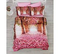Комплект постельного белья евро размер Cotton Box SAKURA