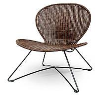 Кресло TROY ротанг коричневый Halmar