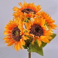 Букет Подсолнухов 40 см Цветы искусственные