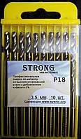 Сверло по металлу кобальтовое Р18 (HSS-Co5, Р6М5-К5) 3,5 мм, фото 1