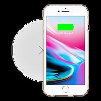 Быстрая беспроводная зарядка Momax Q.Pad White