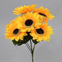 Букет Подсолнухов 35 см Цветы искусственные