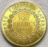Франція 100 франків 1909 рік, фото 2