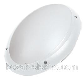 Светильник пластиковый AQUA OVAL OPAL белый  IP65