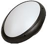 Светильник пластиковый AQUA OVAL OPAL черный  IP65