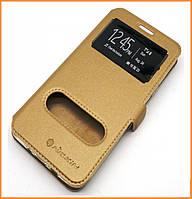 Чехол-книжка Nillkin 2 Window Style для Huawei P8 Lite Gold