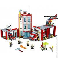 Конструктор Детский Lego City. Пожарная часть (60110)