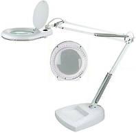 Увеличительная лампа-лупа модель ZD-140 LED настольная