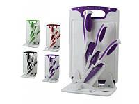 Набор ножей Barton Steel BS 9014 CB violet