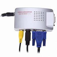 Универсальный конвертер VGA TV RCA converter