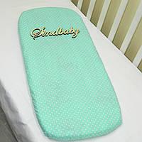 Простынь в коляску для новорожденных -04