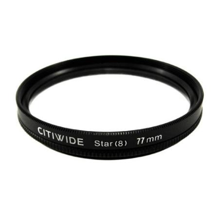 Звездный фильтр 72мм 8-ми лучевой, star-8 CITIWIDE