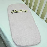 Простынь в коляску для новорожденных -05