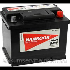 Аккумулятор автомобильный HANKOOK 62АHR+ 540А (MF 56219)