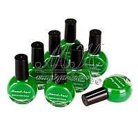 Лак-фарба для стемпинга 10ml, зелена