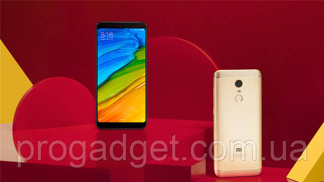 """Xiaomi Redmi 5 3/32 black - черный Безрамочный смартфон 5.7"""" HD+, Snapdragon 450 Global Version! + Подарок"""