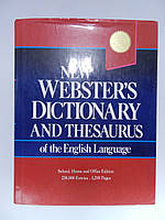 New Webster's dictionary and thesaurus of the English language (б/у).