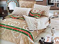 """Полуторное постельное белье """"GUCCI SVV-0"""""""