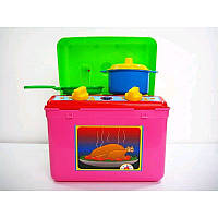 """Кухня """"Галинка 4"""" 1004, детская игровая кухня, игра для девочек, плтьа, посудка"""