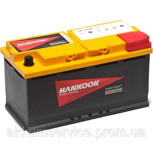 Акумулятор автомобільний HANKOOK Start Stop 95АН R+ 850А AGM (SA59520)
