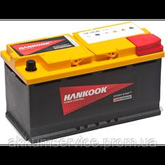 Аккумулятор автомобильный HANKOOK Start Stop 95АH R+ 850А AGM (SA59520)