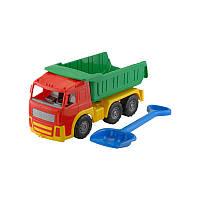 """Машина """"Акрос"""" самосвал №2: автомашина + лопата """"Землеройка"""" большая арт. 0527, игрушечная машинка"""