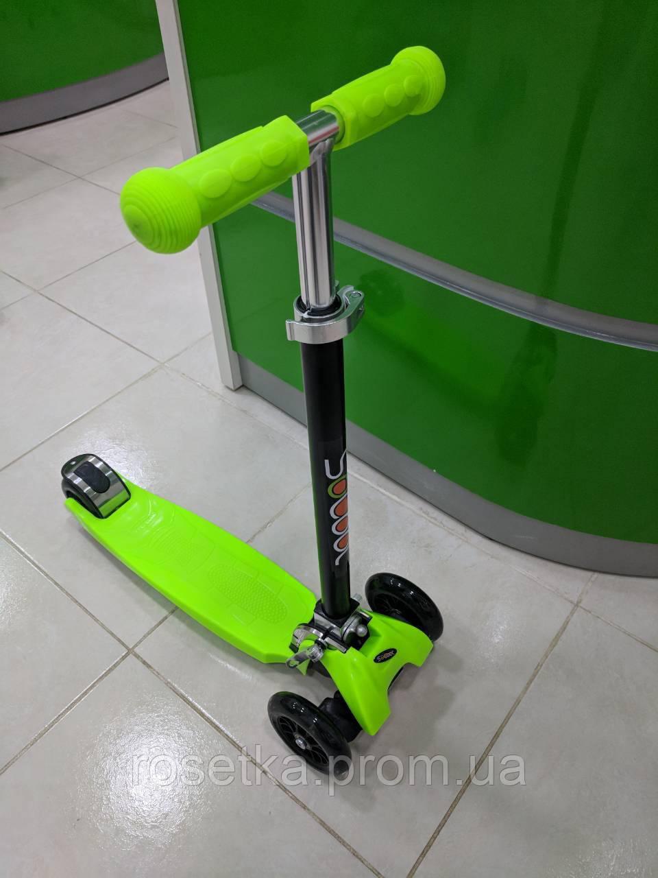 Детский трехколесный самокат Scooter для детей от 6 лет
