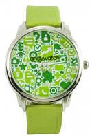 """Наручные часы """"Зелень"""""""