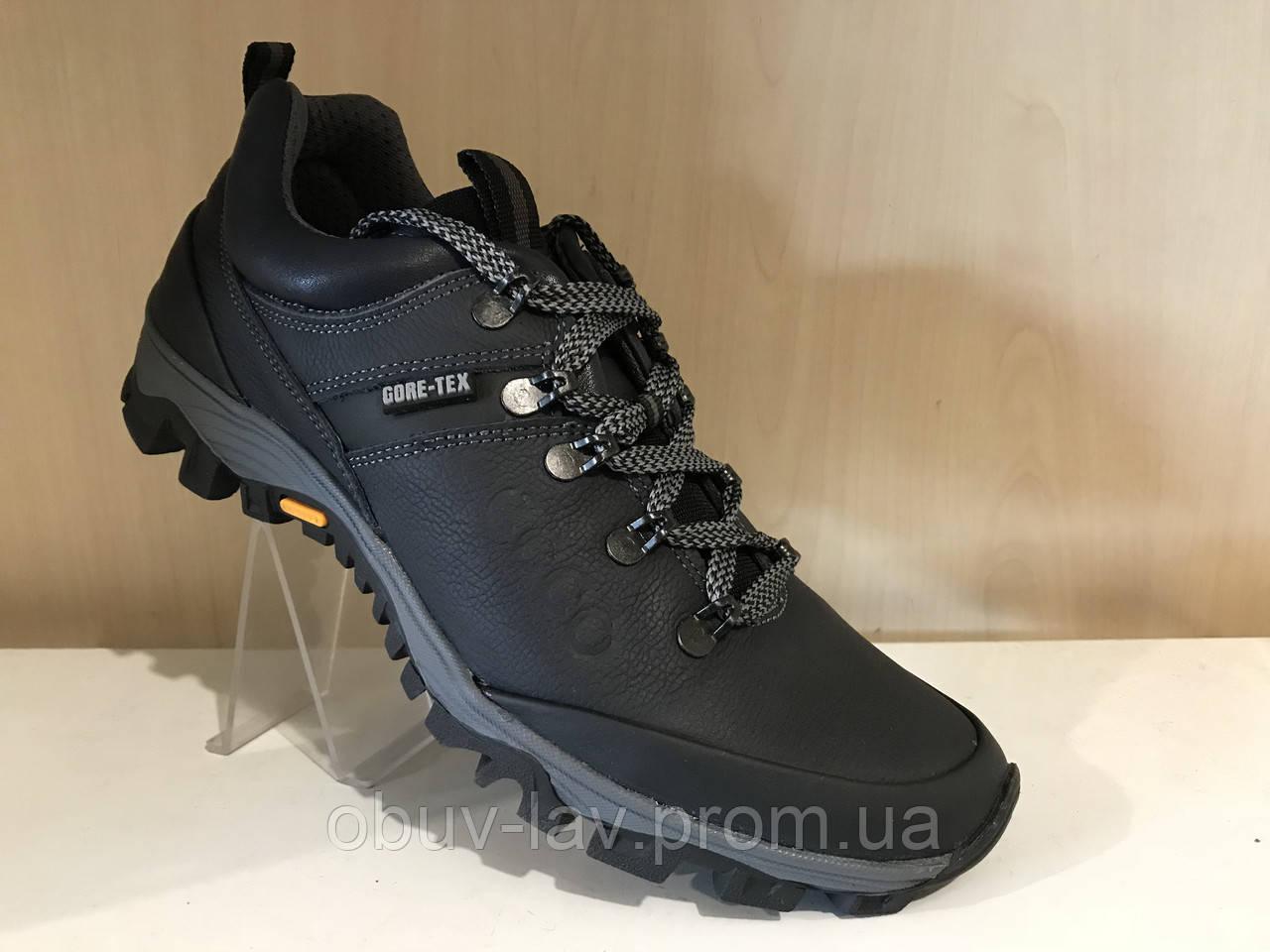 7fa27baa Кожаные мужские кроссовки ecco синие - Интернет-магазин спортивной обуви
