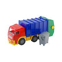 """Машина """"Акрос"""" мусоровоз арт. 0565, детская машинка, игрушечный грузовик, игрушка для мальчиков"""