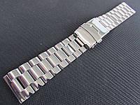 Браслет для часов из нержавеющей стали, глянец, 20-й размер., фото 1