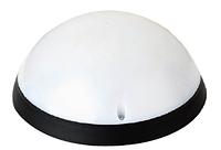 Светильник пластиковый AQUA F/M LED 12W 3000K черный  IP54