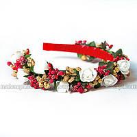 Веночек Белая роза