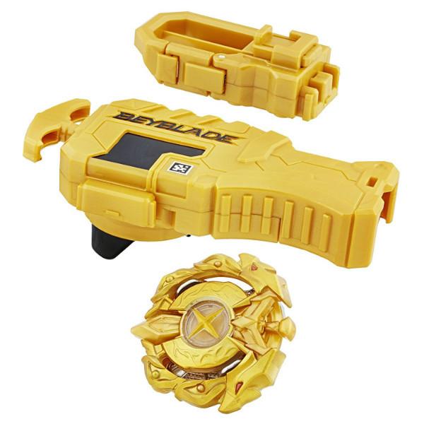 Beyblade Бейблейд Золотой дракон c пусковым устройством Burst Master Kit Hasbro