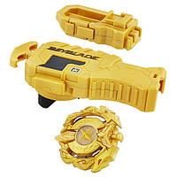 Beyblade Бейблейд Золотой дракон c пусковым устройством Burst Master Kit Hasbro, фото 1