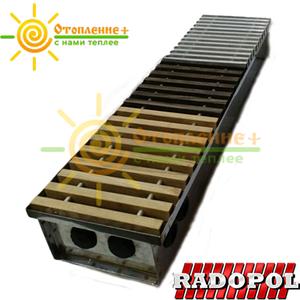 Радиатор внутрипольный Radopol KV8 200*1250