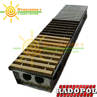 Радиатор внутрипольный Radopol KV8 350*5000