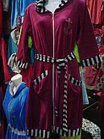 Халат велюровый женский (355/305)