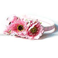 Мини-веночек Розовый Мак