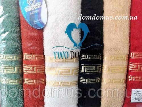 "Набор полотенец ""JK Dry"" 70*140 TWO DOLPHINS 6 шт./уп., Турция Е646"