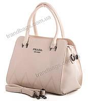 Женская сумка Lucky bags A243-1 beige брендовые женские сумки в Одессе