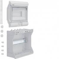 Щит распределительный на 10 модулей накладной, с прозрачными дверями, IP65, VECTOR Hager